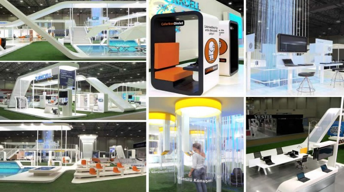 Eye-grabbing Custom Modular Exhibition Stands