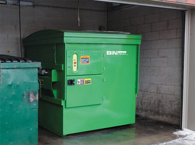 Information about portable trash compactors