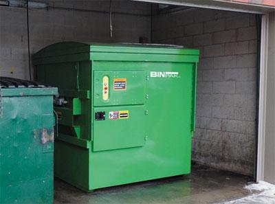 Information about portable trash compactors