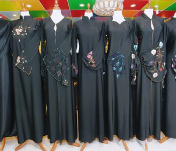 Different types of abaya fabrics
